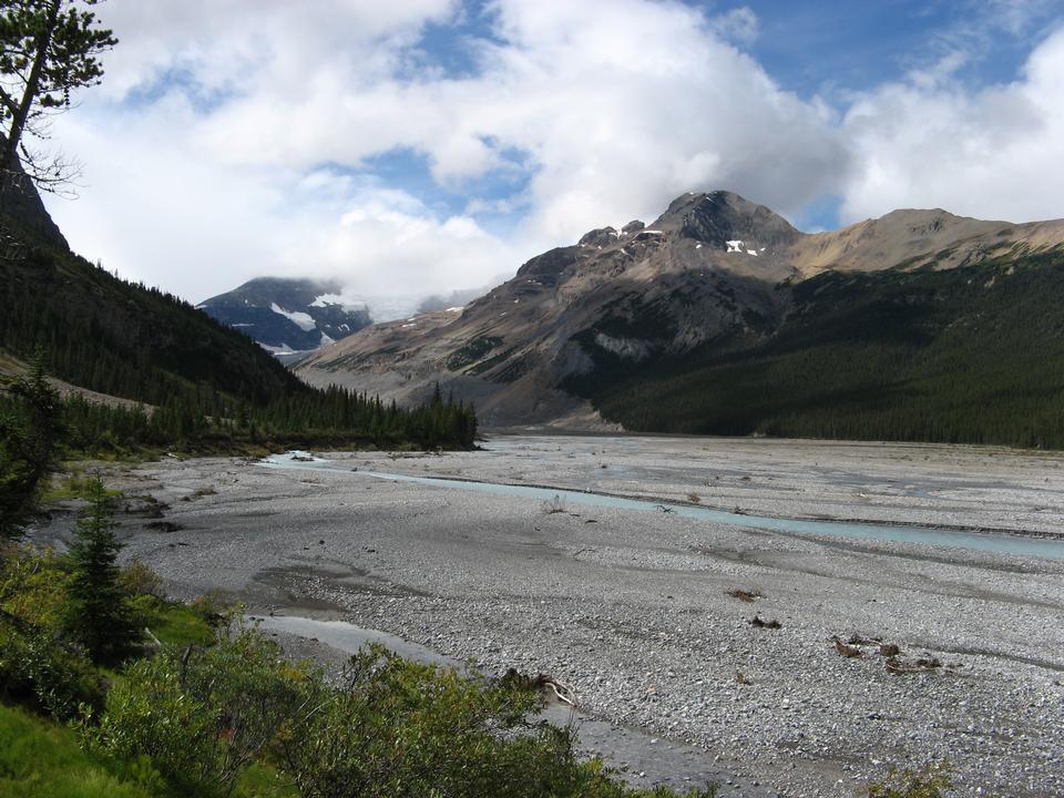 Free The North Saskatchewan in Banff National Park.