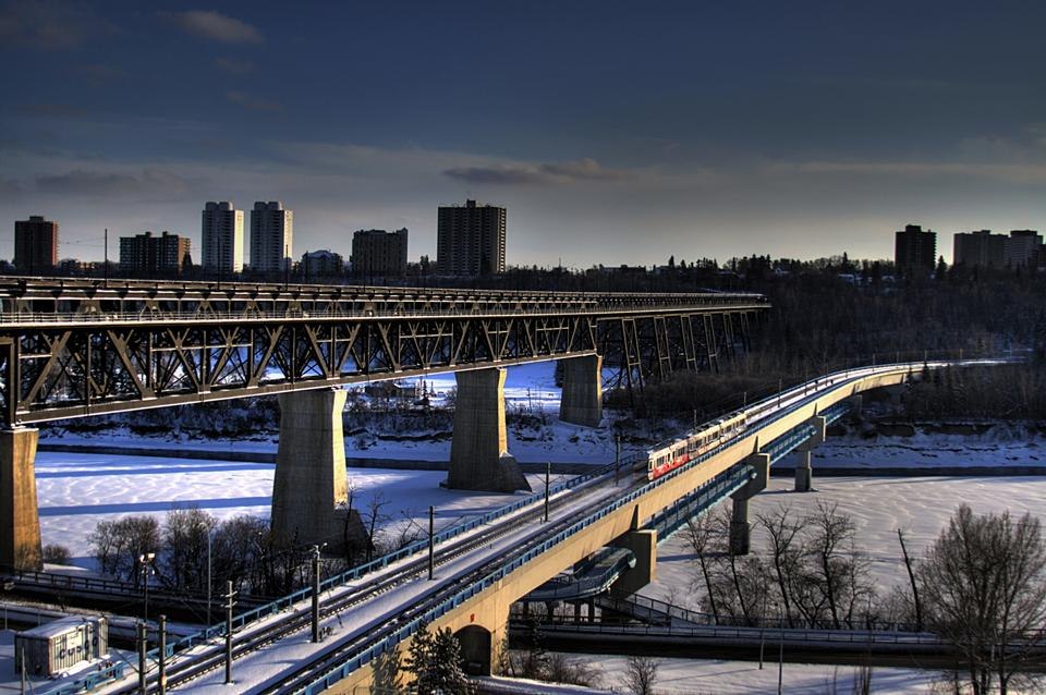Free the High Level Bridge Edmonton Canada