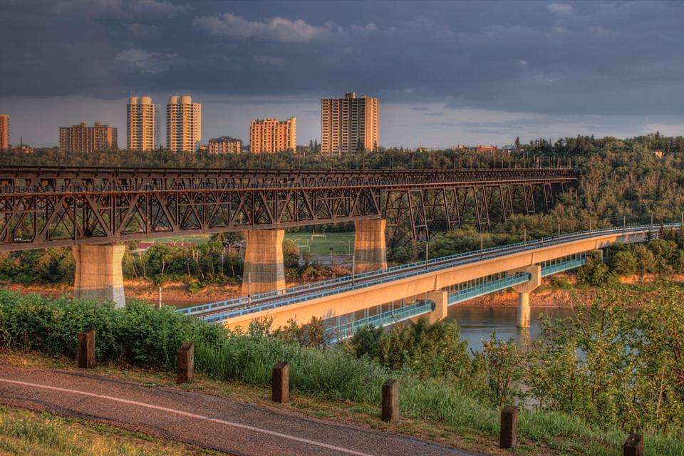 Free the High Level Bridge across the North Saskatchewan River
