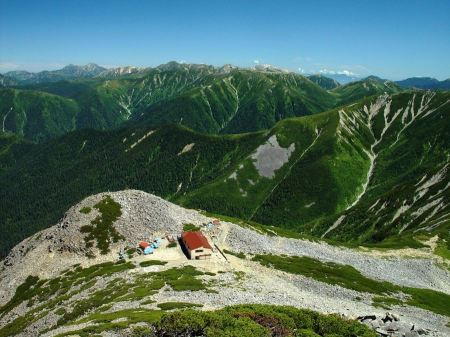 Free Mt.Aino of the Japanese Alps