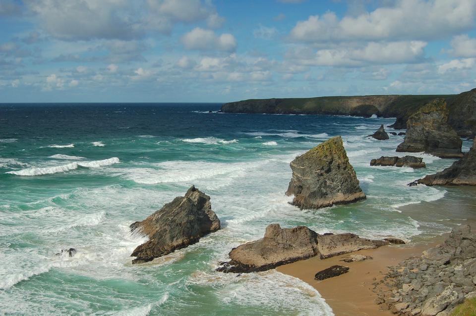 Free Porthcurno beach, Penwith, Cornwall