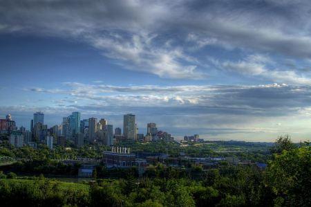 Free Skyscrapers in Edmonton Canada