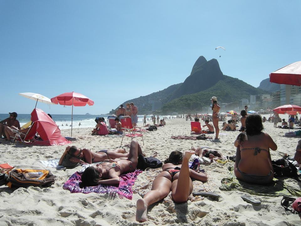 Free Copacabana Beach  Rio De Janeiro