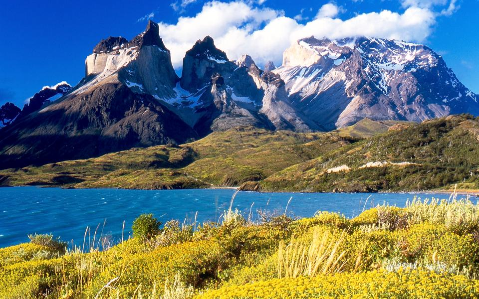 Free Torres del Paine National Park, Chile.