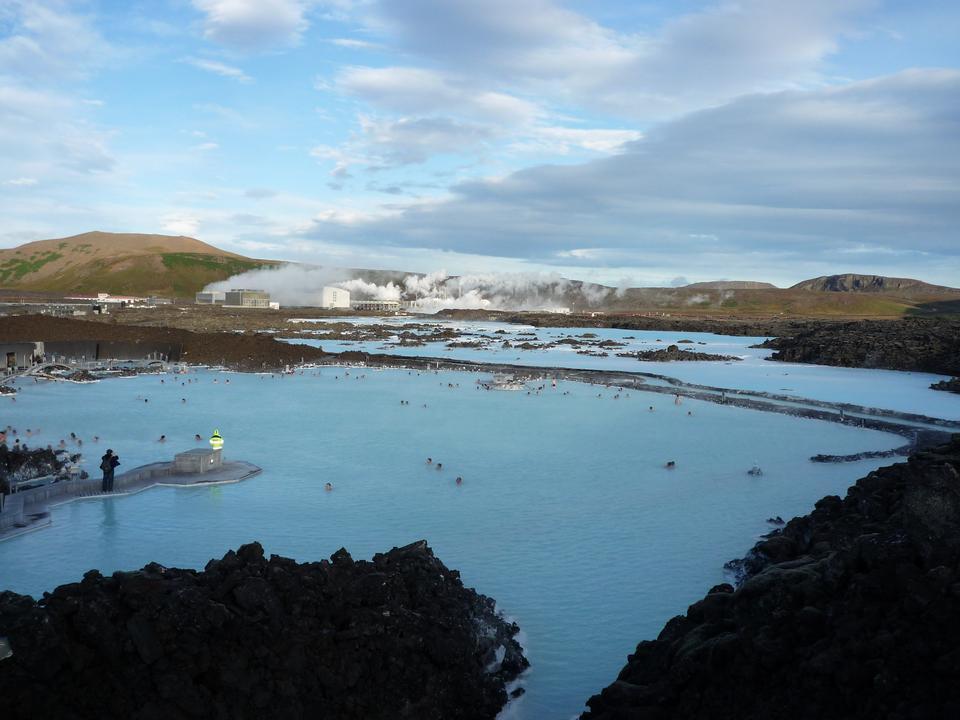 Free Nature Blue Lagoon Iceland