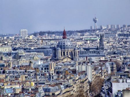 Free Cityscape of Paris France