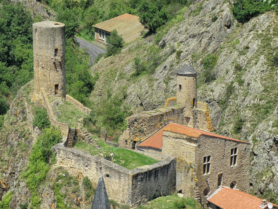 Free Saint-Floret Historic Castle France