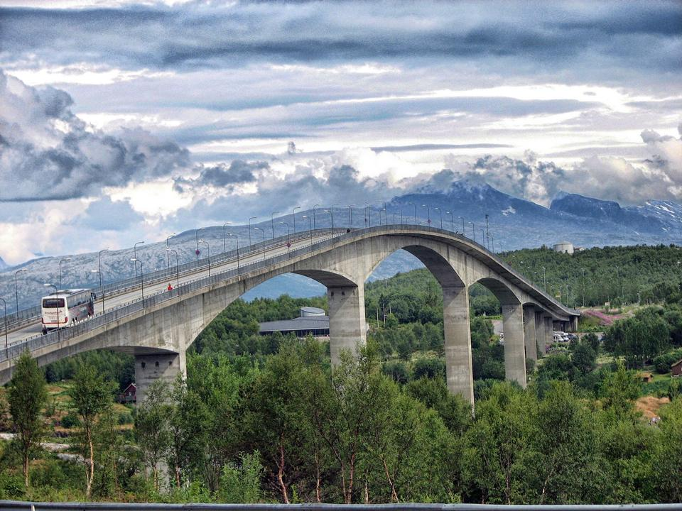Free Saltstraumen Bridge Norway