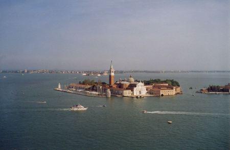 Free San Giorgio Maggiore island in Venice