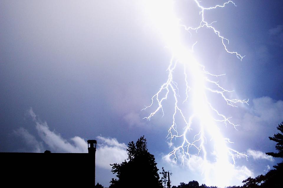 Free Vector Lightning