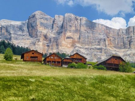 Free Mountain village in Italy