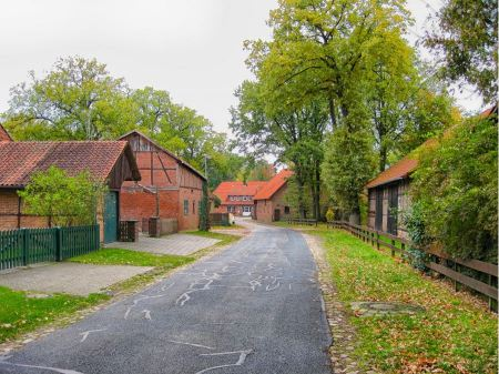 Free Small Village in Stellichte Germany