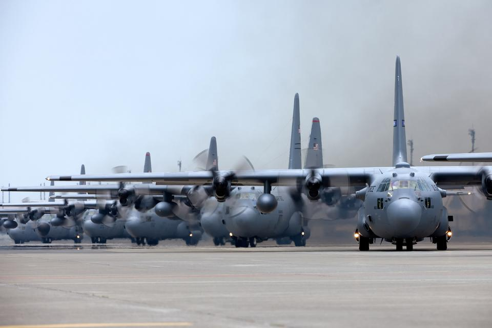 Free Surge of airpower C-130 Hercules