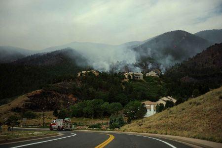 Free Fire still burns in the Mount Saint Francois area