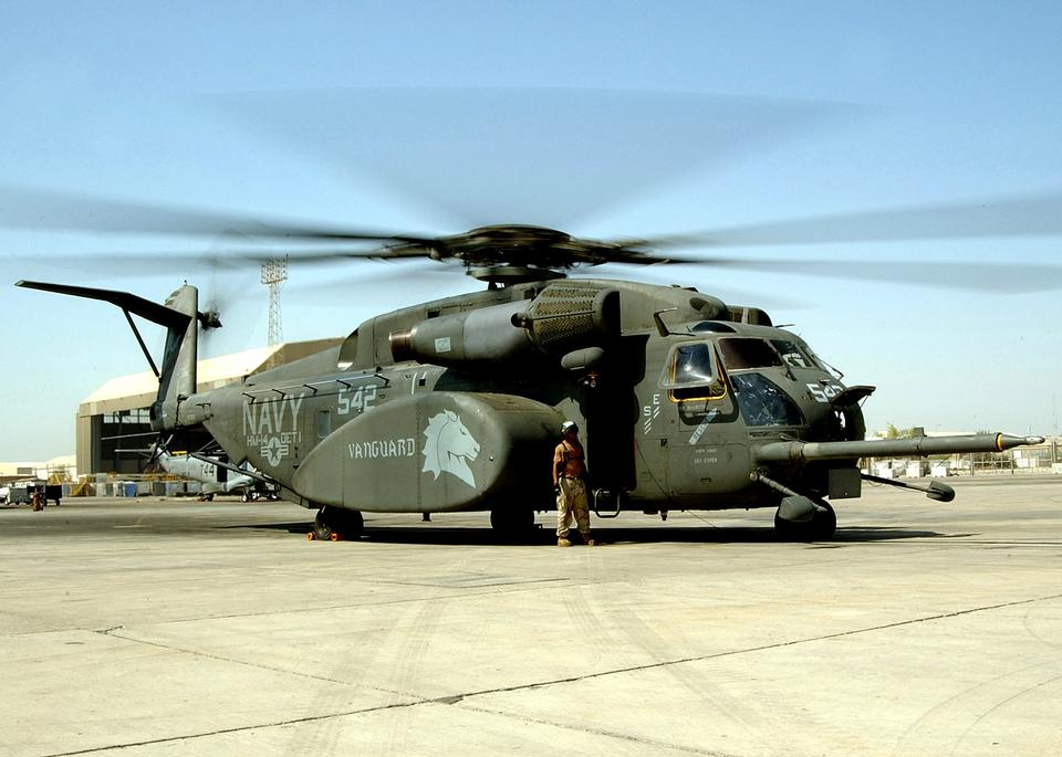 Free An MH-53E Sea Dragon helicopter from the Vanguards