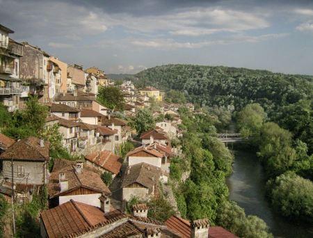Free Landscape of Veliko Turnover Bulgaria