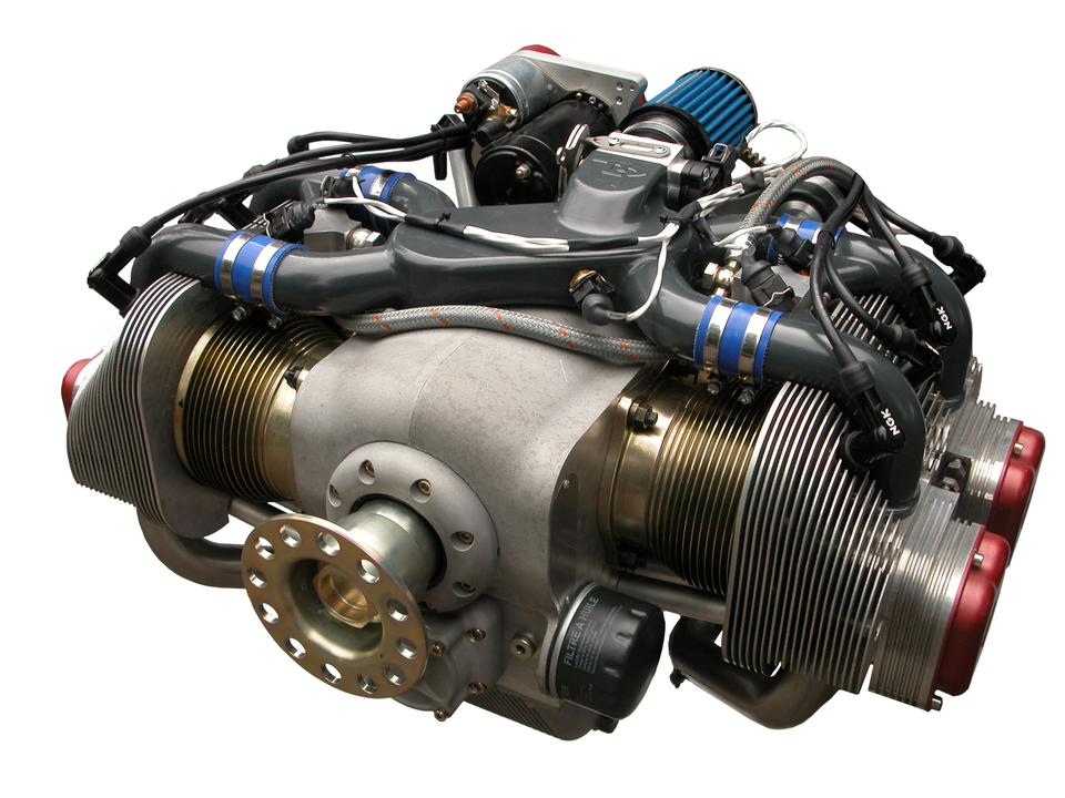Free The ULPower UL260i is a flat four aircraft engine