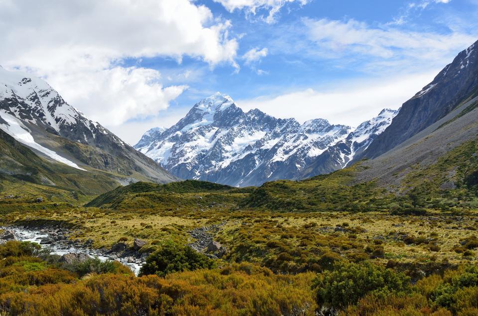 Free Aoraki  Mount Cook Mackenzie, New Zealand
