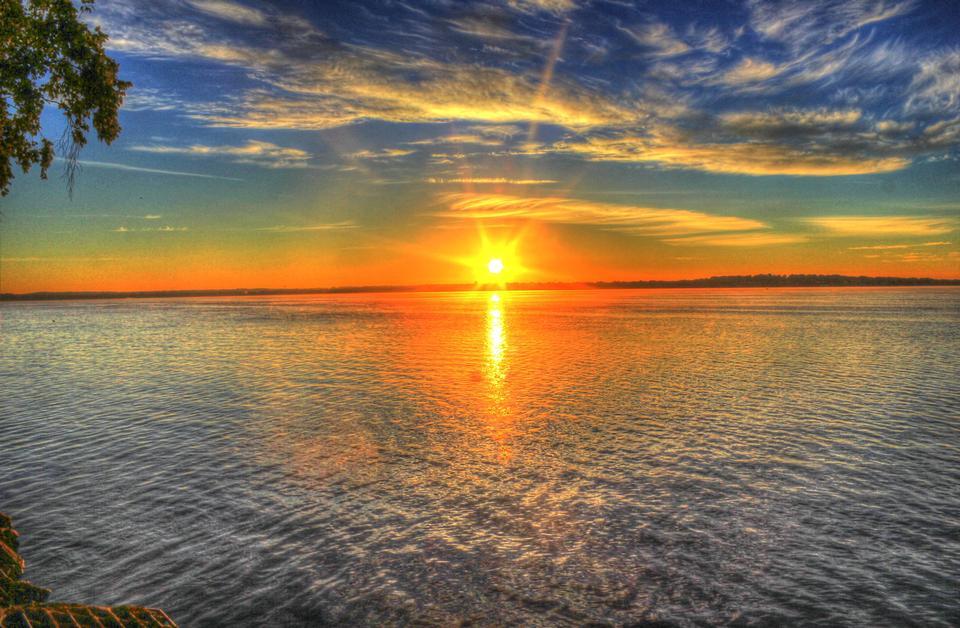 Free Sunrise Over Lake Monona