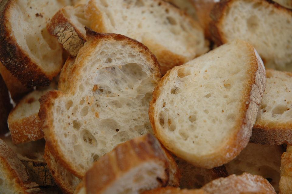 Free Slices Of Various Types Of Bread