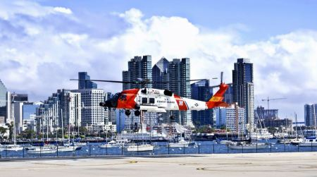Free Coast Guard  Helicopter San Diego California