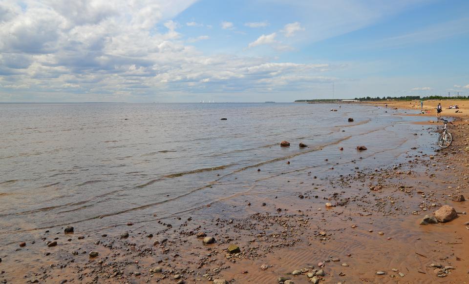 Free Neva Bay in Saint Petersburg, Russia