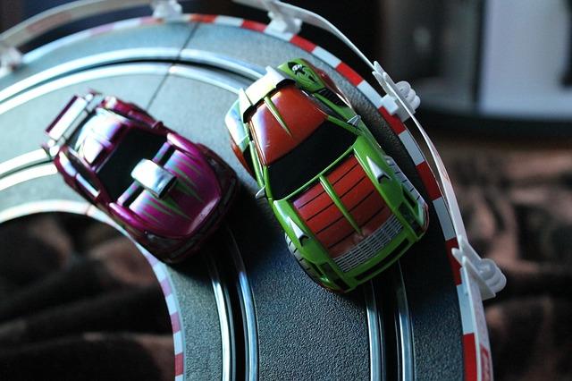 Free carrera auto red miniature toys automotive