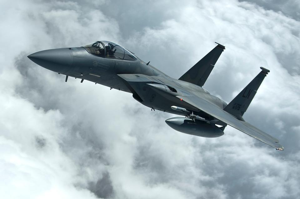 Free An Air Force F-15C Eagle