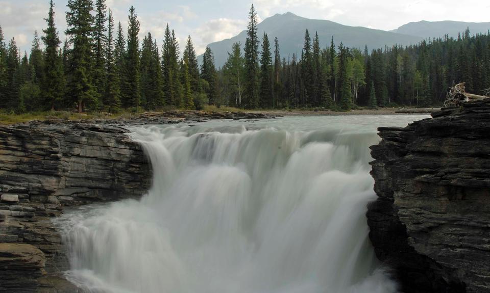 Free Athbascan Falls Waterfall