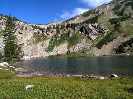 Free Scenic Lake Grand Tetons Mountains