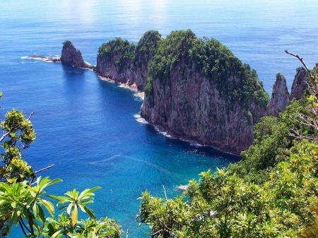 Free Landscape American Samoa Island