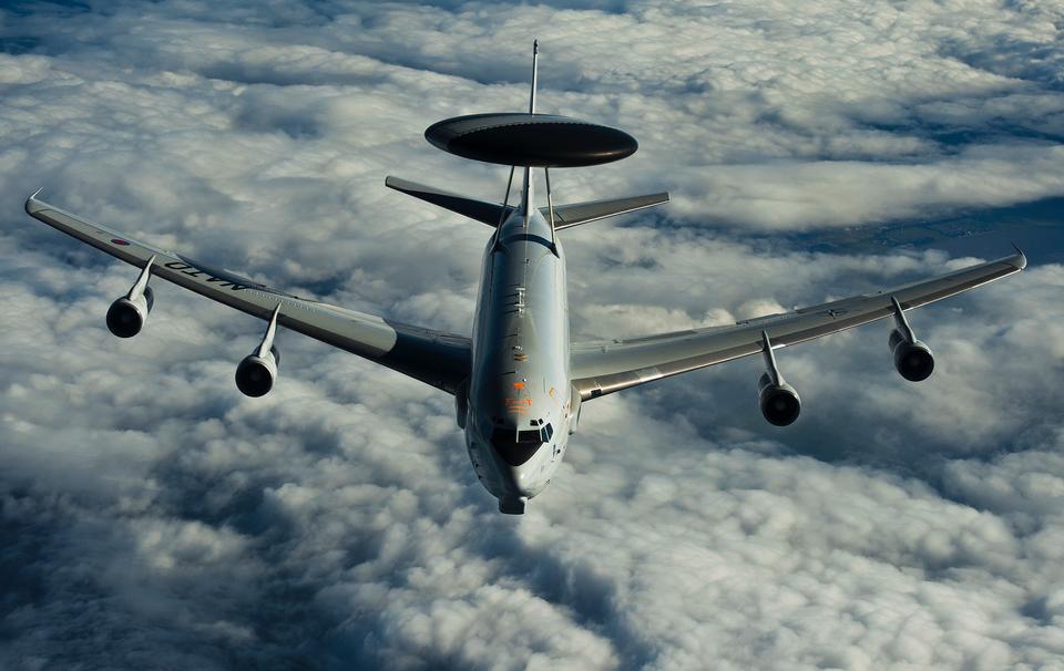 Free A NATO E-3A AWACS Sentry aircraft