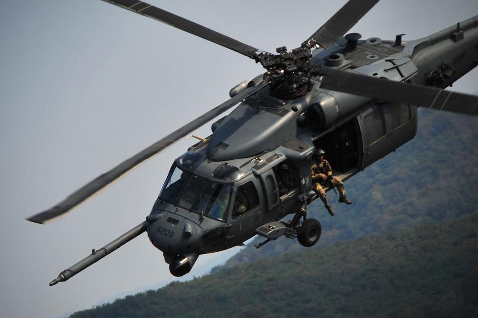 Free Hanging out  HH-60G Pave Hawk