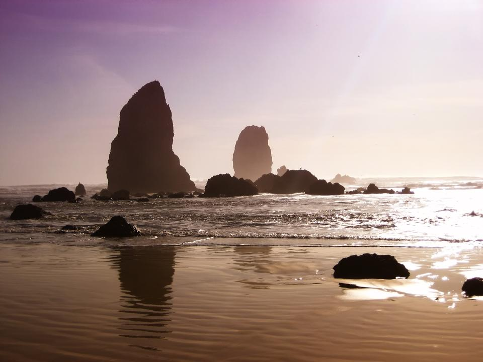 Free Beautiful Landscape Oregon Beach