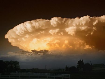 Free Sky Clouds Supercell Chaparral New Mexico