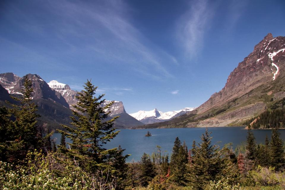 Free Saint Mary Lake Glacier National Park Montana