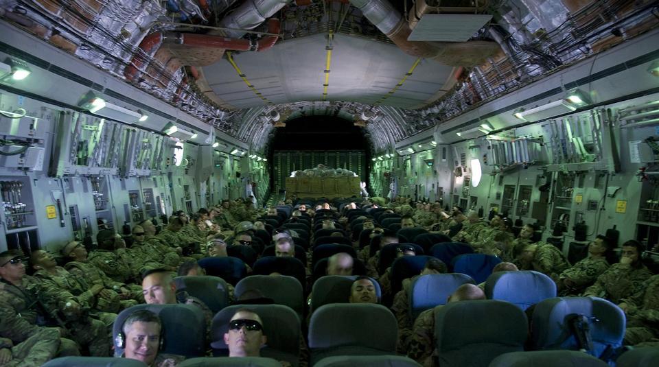 Free Kyrgyzstan on a C-17 Globemaster III