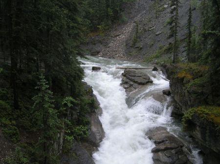 Free Athabasca Falls, Alberta, Canada