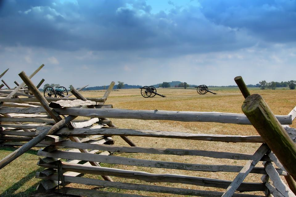 Free Battlefield  Gettysburg Pennsylvania