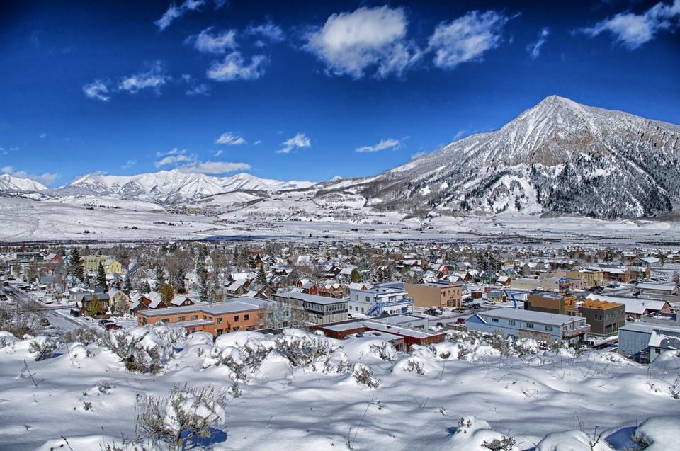 Free Crested Butte Town Colorado