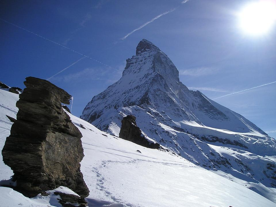 Free Matterhorn Zermatt Mountains Switzerland