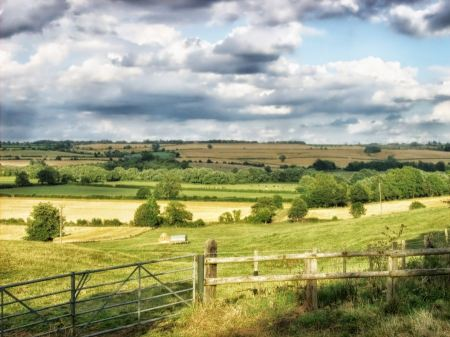 Free Scenic Landscape in Middle Aston South Yorkshire England