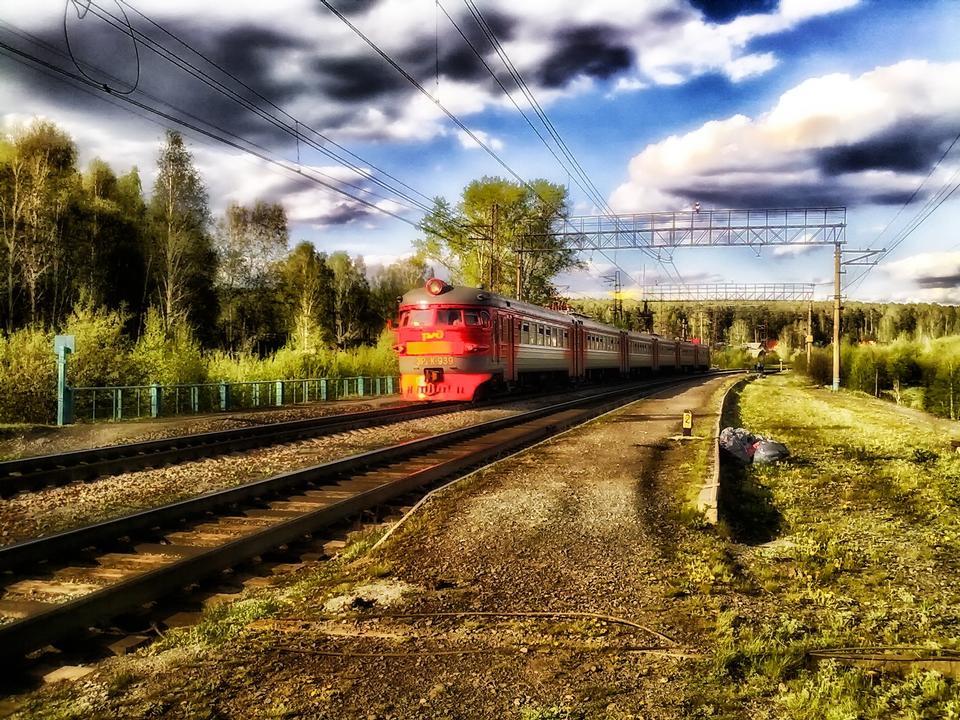 Free Railway track in Sverdlovsk Russia