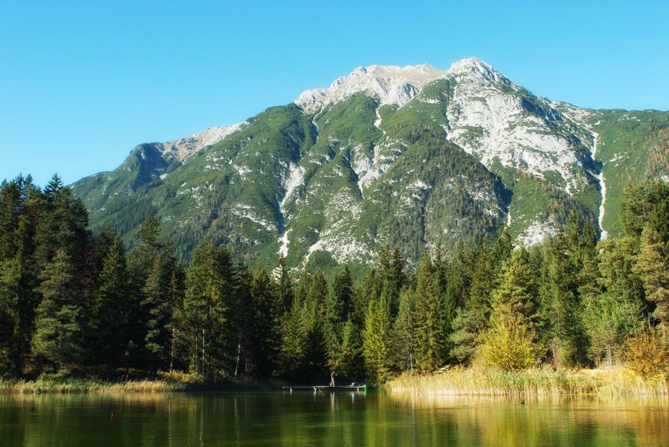 Free Lake Reflections Alps of Austria