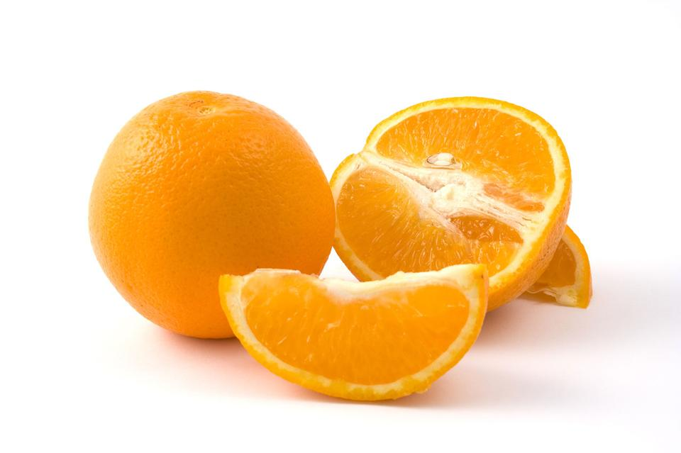 Free Oranges Isolated On A White Background