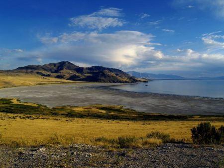 Free Stansbury Island on the Great Salt Lake, Utah