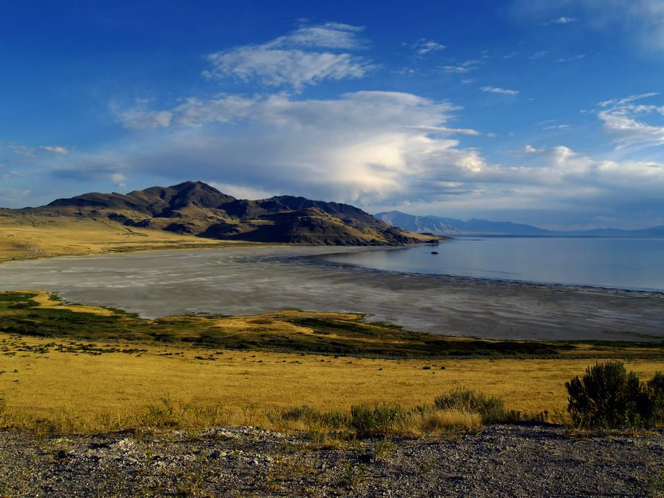 Free Stansbury Island on the Great Salt Lake, Utah