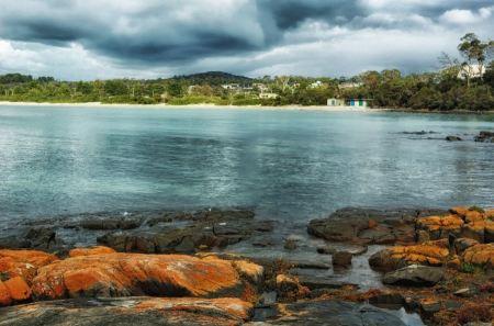 Free Beach houses at Boat Harbour, Tasmania, Australia