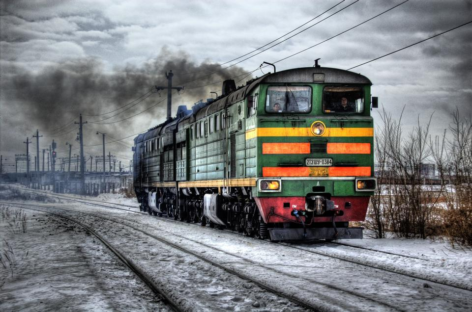 Free Locomotive Diesel Russia Train