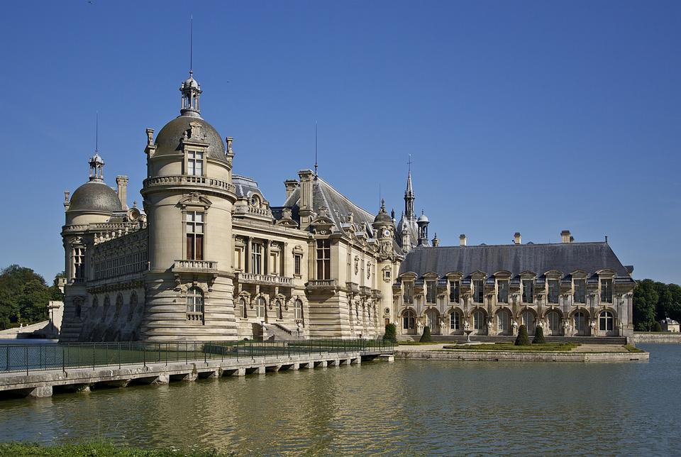 Free Chateau de Chantilly Oise, Picardie, France
